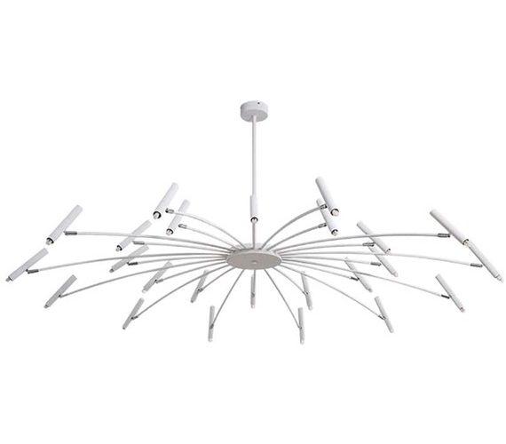 LED kroonluchter Umbrella 12+12 White