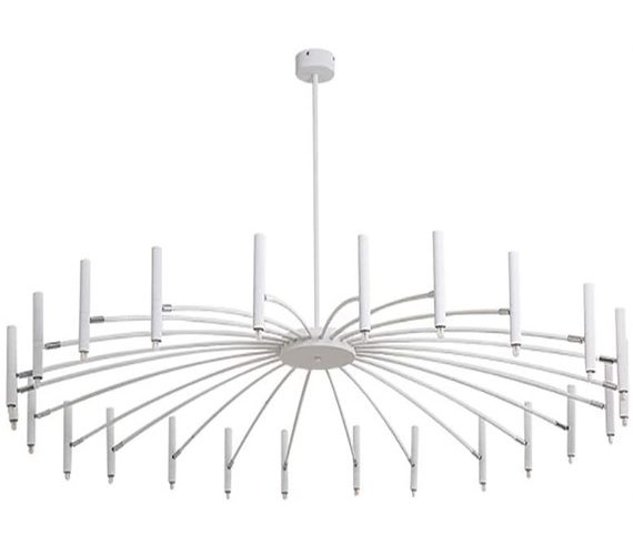 LED kroonluchter Umbrella White 24