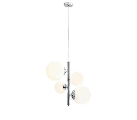 Hanglamp Bahlia 8 Chrome