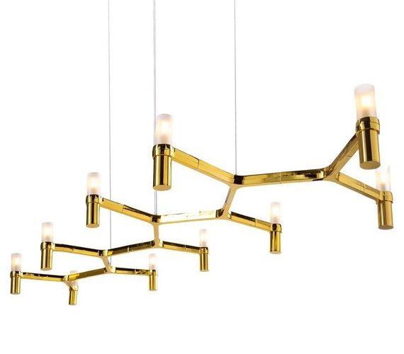 Design kroonluchter Candles 10 Gold