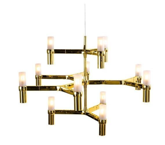 Design kroonluchter Candles 12 Gold No.1