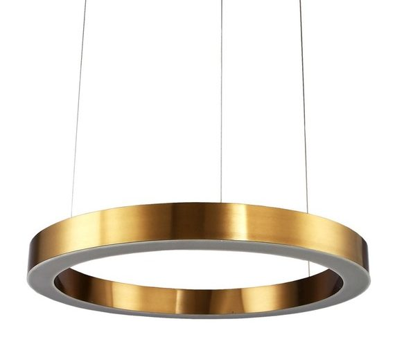 Messing LED hanglamp Circle