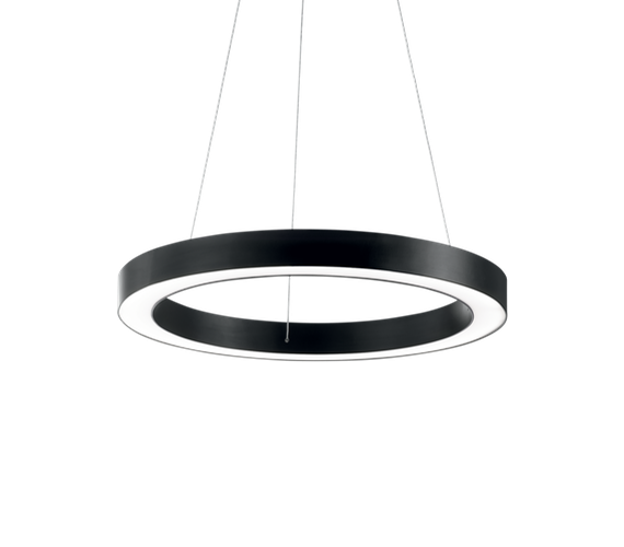 LED hanglamp Oracle Circle Black