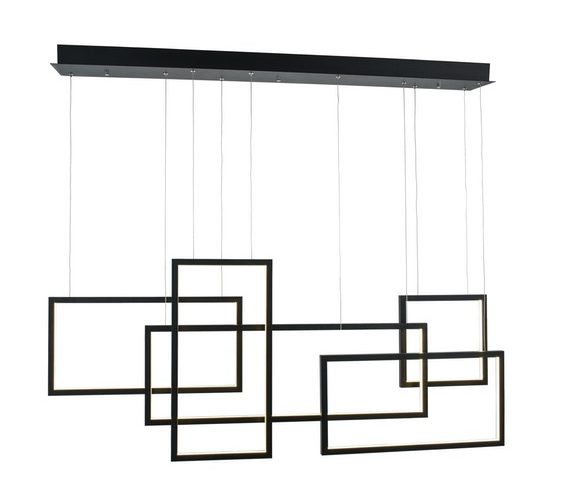LED hanglamp Quadratus Black