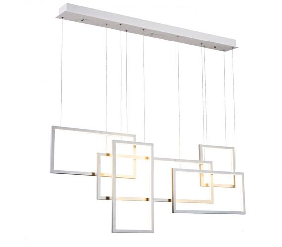 LED hanglamp Quadratus White
