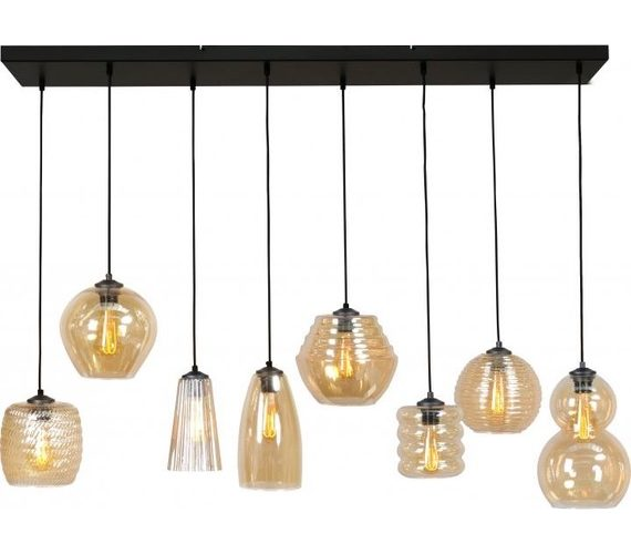 Glazen hanglamp Quincy
