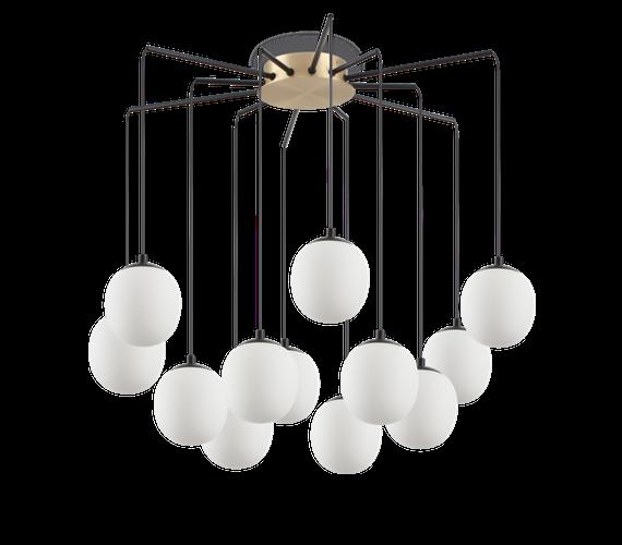 Plafondlamp Rapsody 12