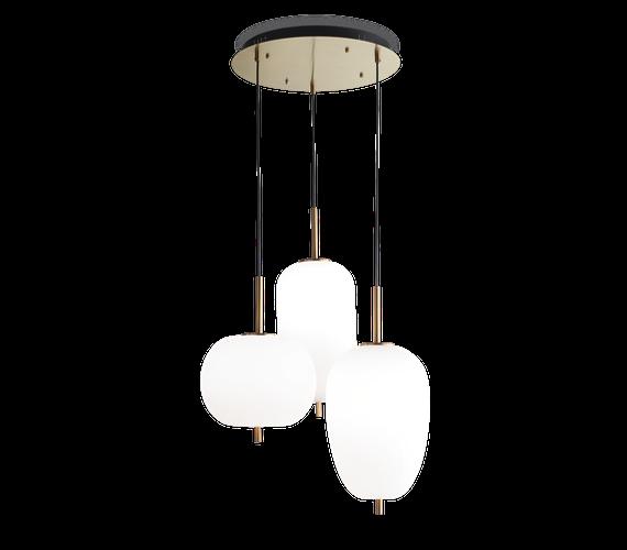 Glazen hanglamp Umile