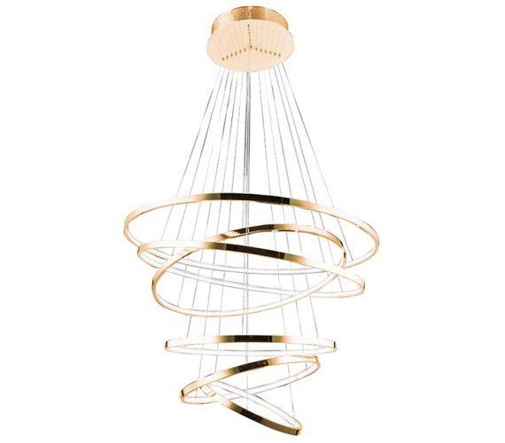 LED Hanglamp Wheel 6 Gold