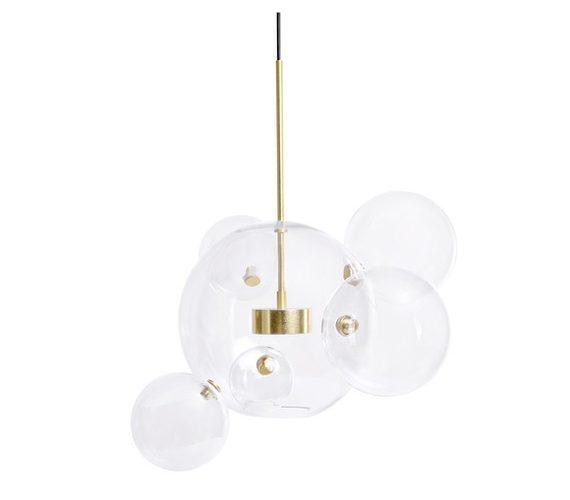 Glazen hanglamp Bubble 6