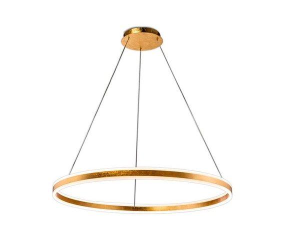 Gouden LED hanglamp Helia