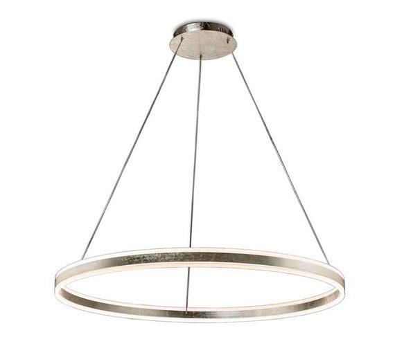 Zilveren LED hanglamp Helia