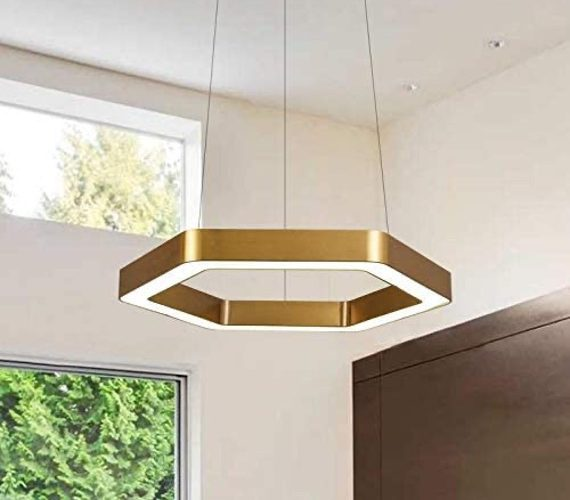 LED Hanglamp Hexagon