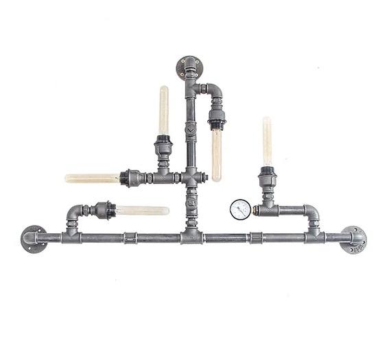Steampunk Wandlamp 040