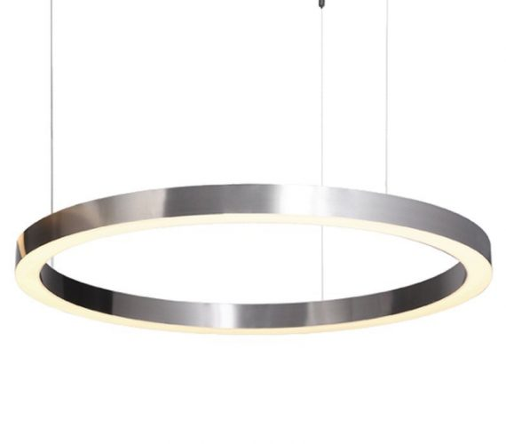 LED Hanglamp Circle Nickel