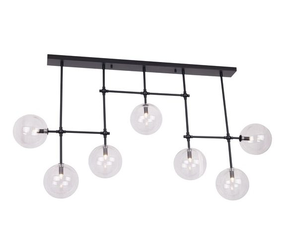 Plafondlamp Grape Ceiling Black
