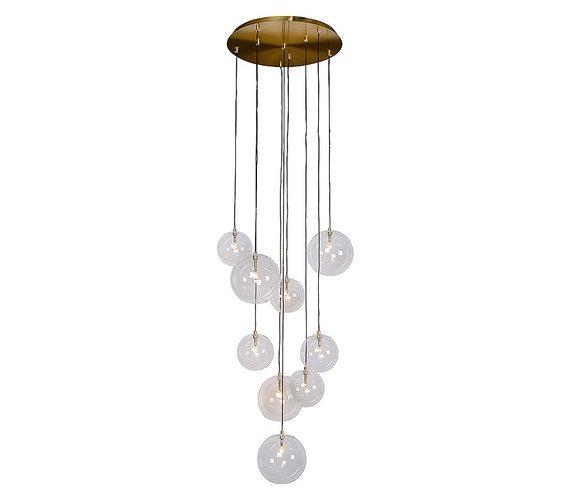 Glazen hanglamp Camaux