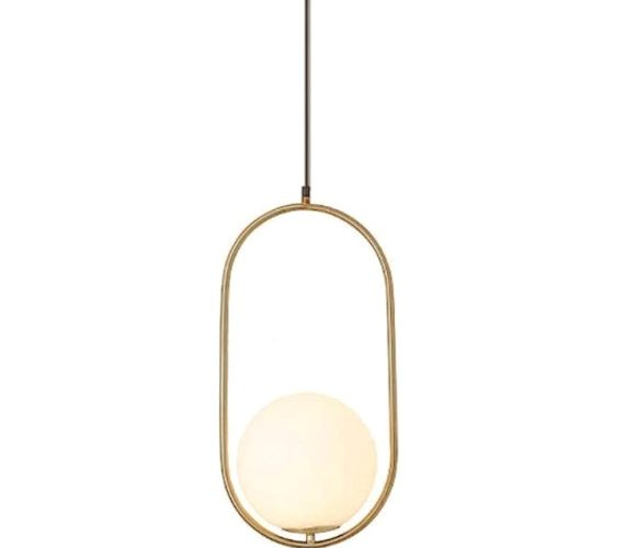 Art deco hanglamp Elipse Single