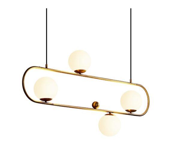 Art deco hanglamp Elipse XL