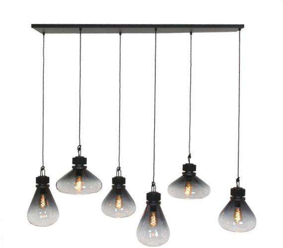 Glazen hanglamp Fiore
