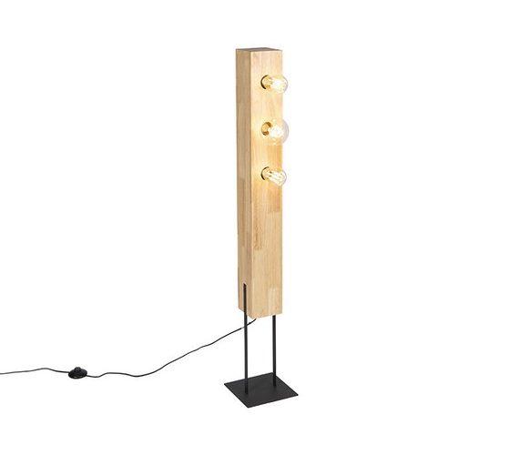 Houten vloerlamp Sena