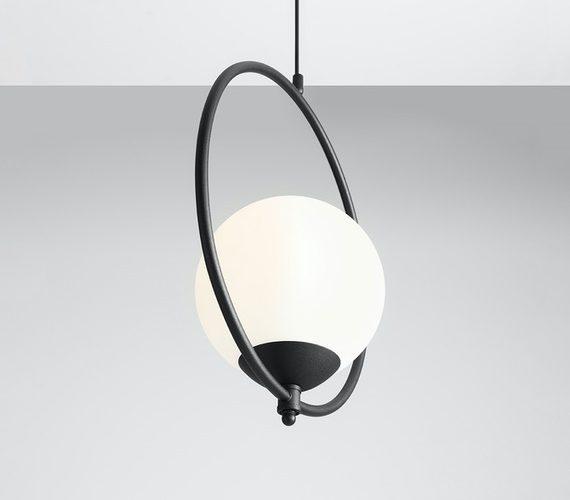 Moderne hanglamp Sol Black