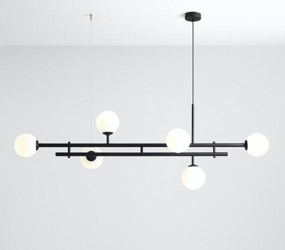 Hanglamp Harmony 6 Black