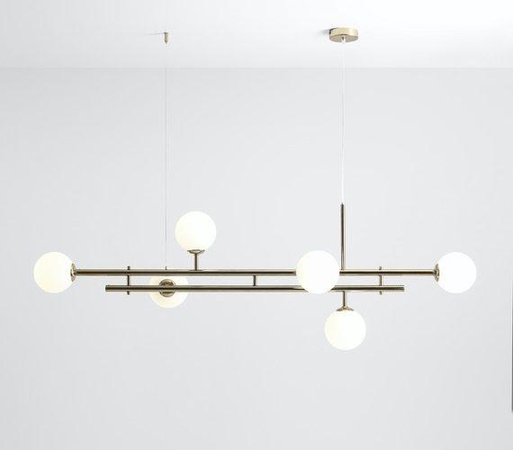 Hanglamp Harmony 6 Gold