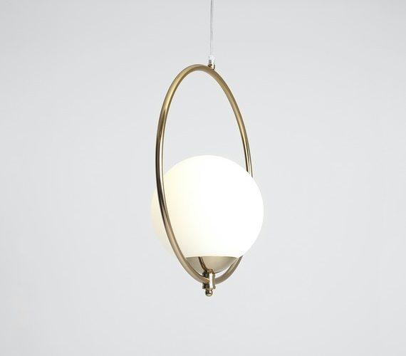 Moderne hanglamp Sol Gold