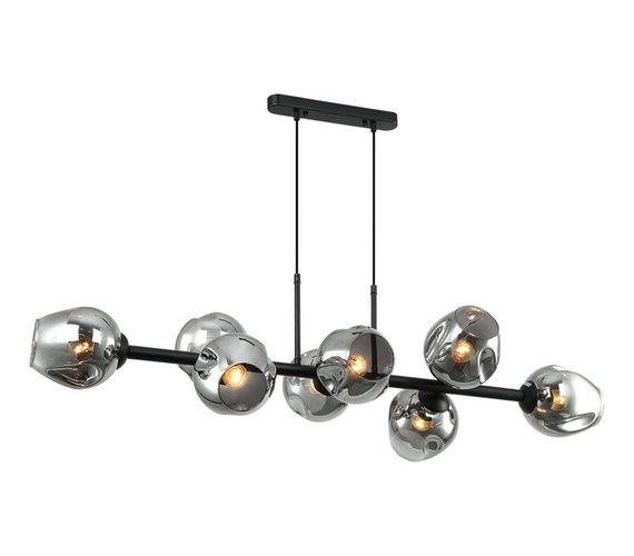 Moderne hanglamp Borga Black