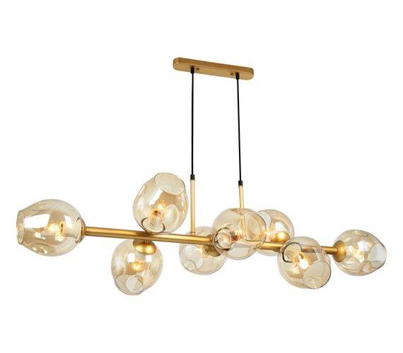Moderne hanglamp Borga 8 Gold