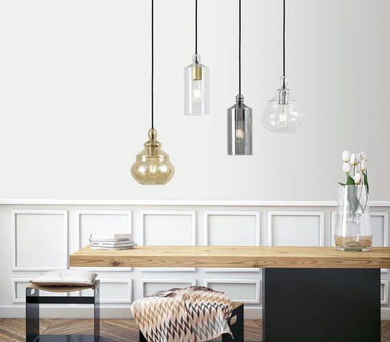 Glazen hanglamp Ebe & Adone
