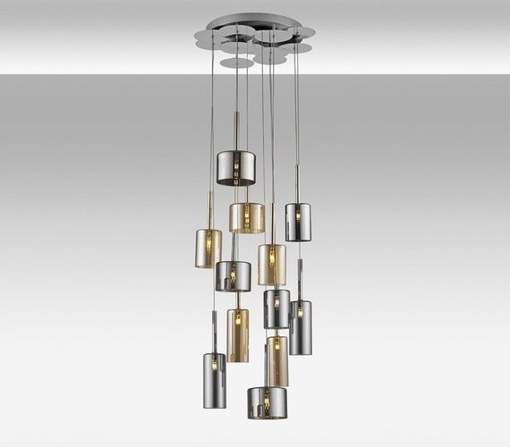 Glazen hanglamp Pots Mix 12
