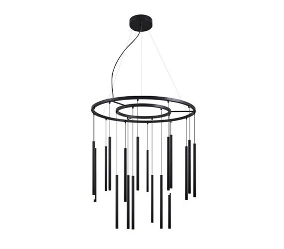 LED hanglamp Black Flutes