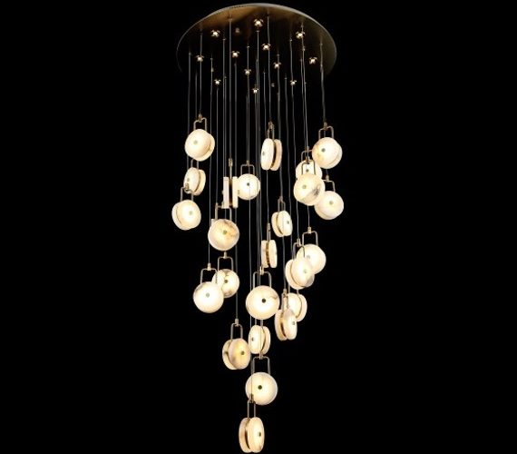 Design hanglamp Marble Discs