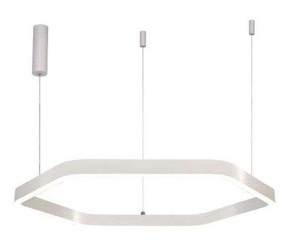 LED Hanglamp Hexagon White