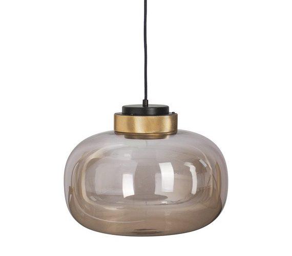 Glazen hanglamp Boom Amber No.2