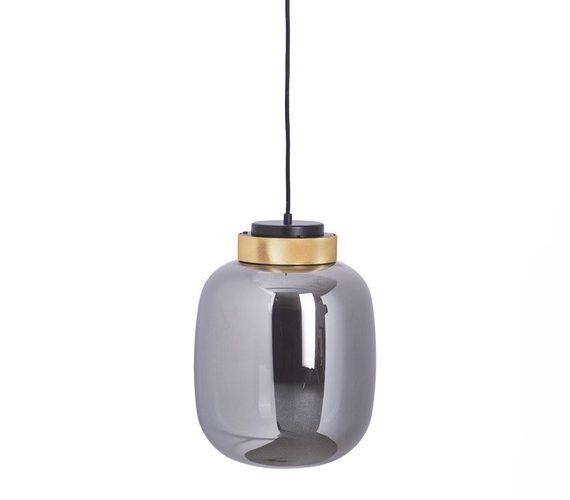 Glazen hanglamp Boom Grey No.1