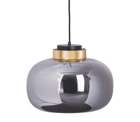 Glazen hanglamp Boom No.2 Grey