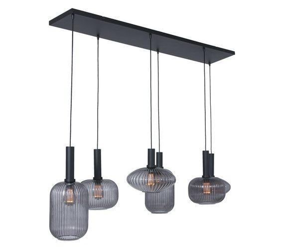 Glazen hanglamp Denske