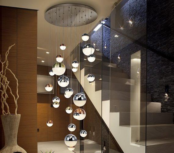 Cluster hanglamp Sphere no2