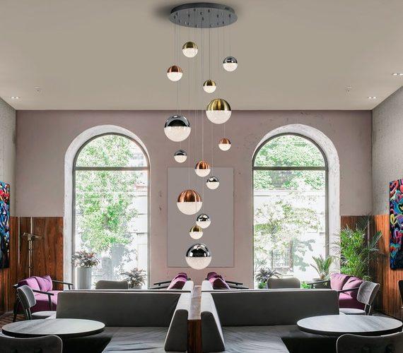 Cluster hanglamp Sphere No.4