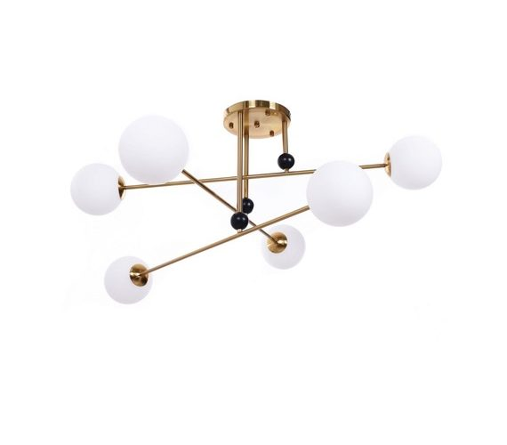 Plafondlamp Bergamo Brass