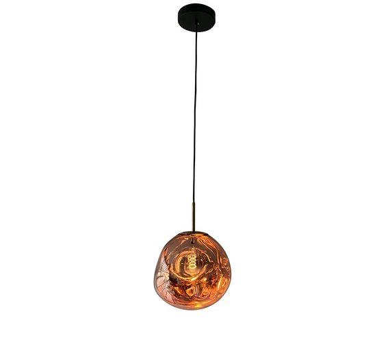 Glazen hanglamp Dino Egg