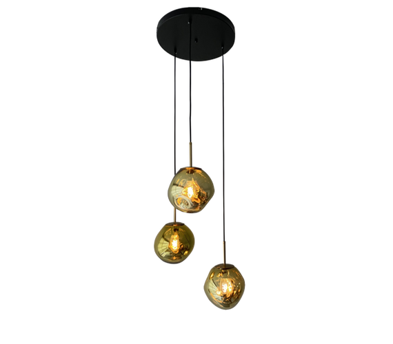 Hanglamp Dino Eggs Gold