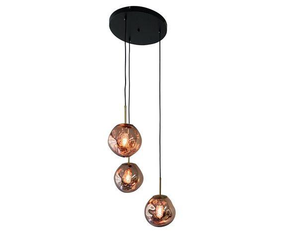 Glazen hanglamp Dino Eggs