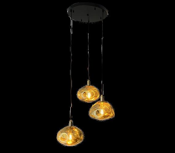 Hanglamp Golden Clouds 3