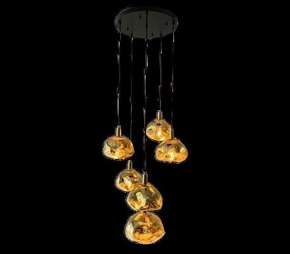 Hanglamp Golden Clouds 6