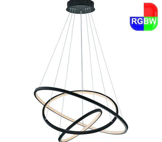 LED hanglamp Nora Zwart