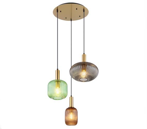 Glazen hanglamp Ilarius